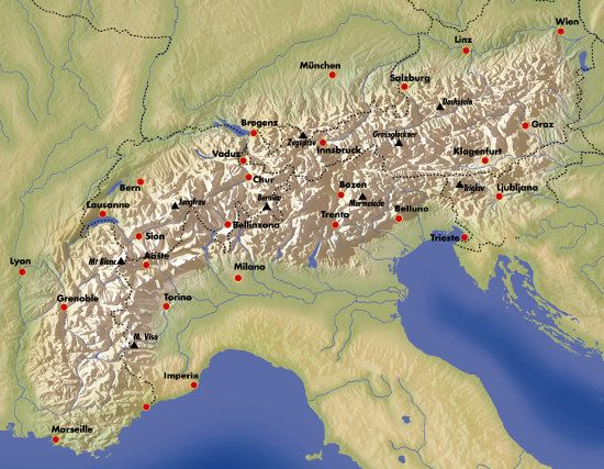Hiking the Via Alpina - a network of 5 walking trails across the eight countries of the Alpine region, more than 5000km long and with 342 day stages