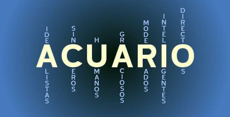 Según tu signo: Acuario - Descubre como eres según tu ...