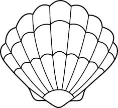 Image result for seashell template free printable