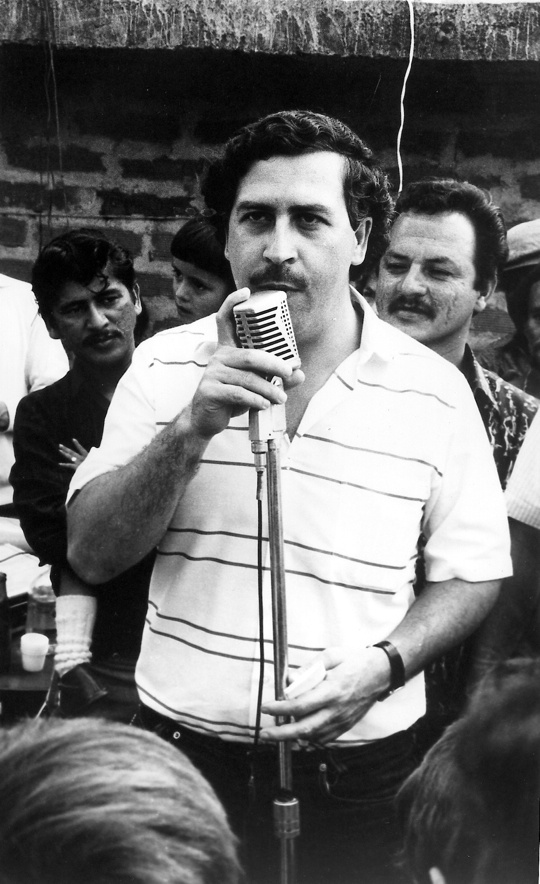 Pablo Escobar:  This Columbian drug lord is known as the world's most notorious criminal. One of the most elusive cocaine traffickers the world had ever seen, Escobar rose from poverty and obscurity to be the most powerful man in Colombia. But, like most powerful figures, the tides must turn. Escobar was killed by rebel forces in 1993, from a fatal shot to his ear. And, we're still talking about him now.