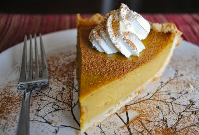 Невыразимая легкость кулинарного бытия...: Американский тыквенный пирог