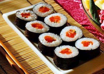 Kajaszünet kuponfüzet, 10 db sushi maki ajándékba
