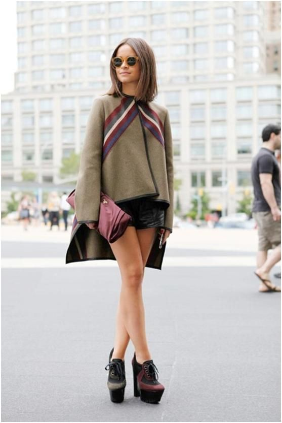 miroslava duma - This is seriously the COOLEST outfit. omg. i want those shoes, the coat. the whole damn thing.