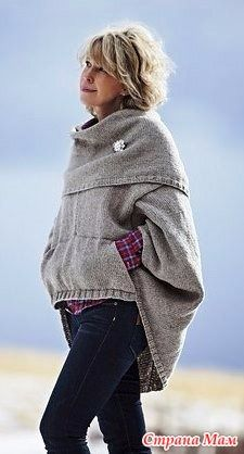 Свитер с карманами кенгуру - Вязание - Страна Мам
