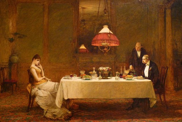 Marriage of Convenience, Sir William Quiller-Orchardson (1883) |