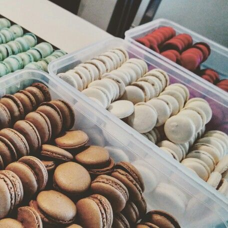 Colours to make a macaron rainbow. Follow on instagram BIANCABAKESCAKES or facebook.com/biancabakescakes