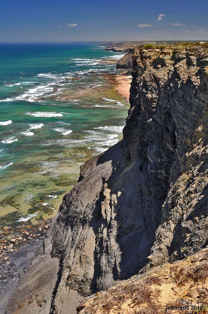 Vicentina Coast, Alentejo, Portugal by: Jobarque on Flickr #vicentinecoast #visitalentejo #portugal