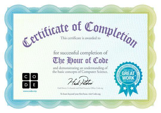 Congratulations | Code.org kod yazma eğitimi