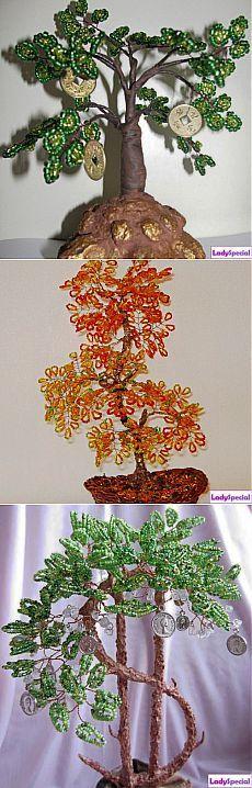 Money Tree da perline - rivista femminile LadySpecial.ru
