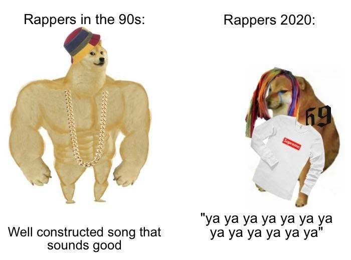 30 Of The Most Savage Yet Somewhat Accurate Then Vs Now Doge Memes Really Funny Memes Funny Relatable Memes Stupid Memes