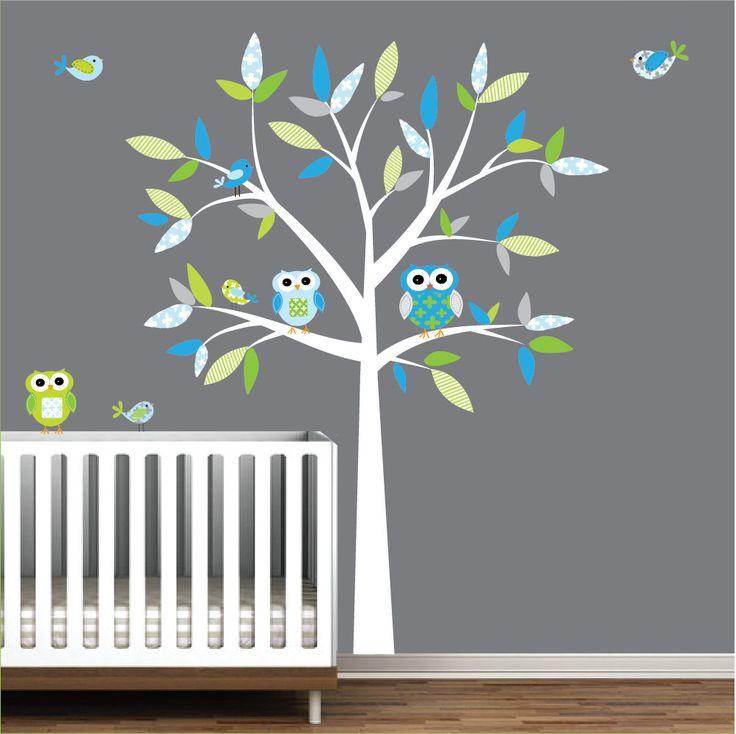 Stickers Arbre Blanc Chambre Bebe : Meilleures idées à propos de sticker motif arbre pour