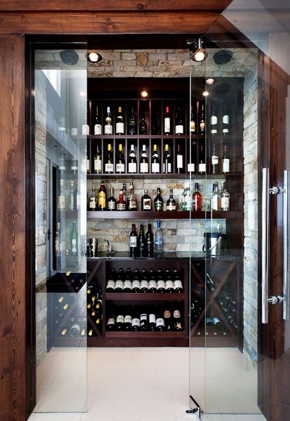 Wine Bar...in my dreams, this would be so lovely in my dream home!