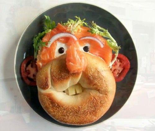 Еда с улыбкой)