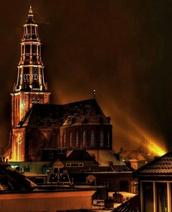 The Der Aa-kerk in Groningen, The Netherlands.
