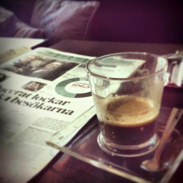 Morgonkaffe, Stockholm, Vasastan, Sweden, Coffee, Break, Coffeebreak, Cafe Caesar