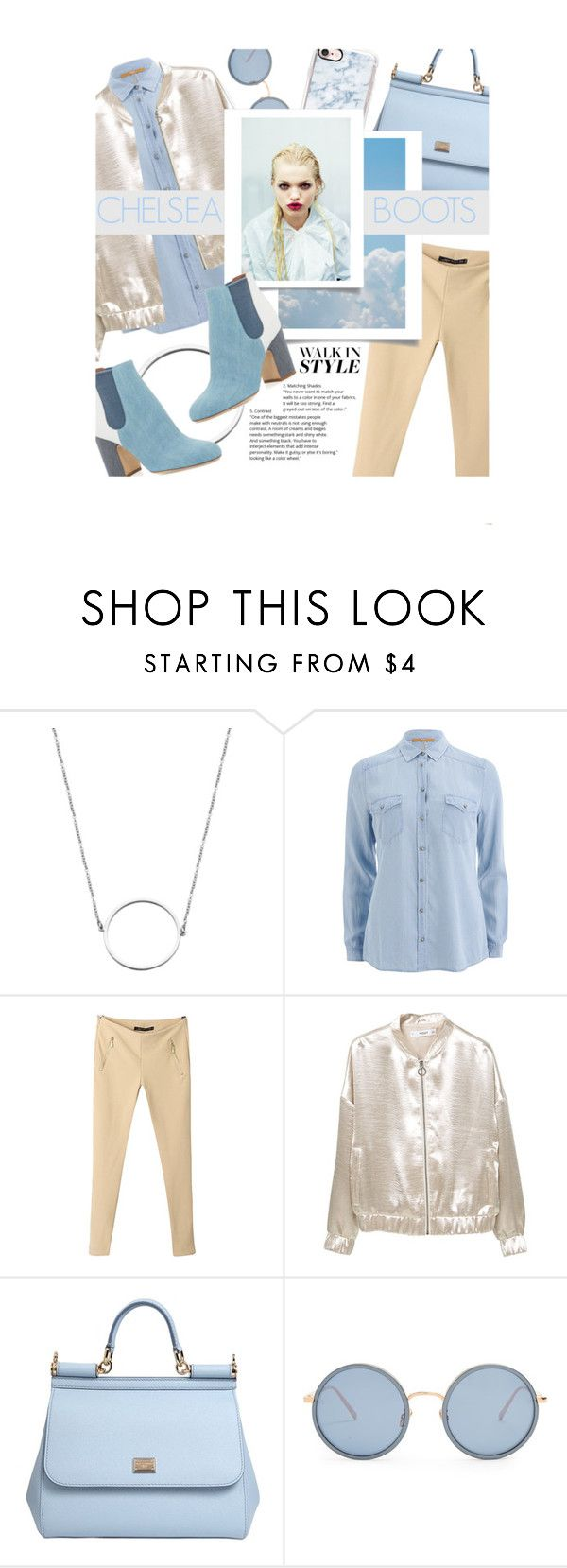 """""""My Blue """"Chelsea"""" Boots"""" by vxstitus ❤ liked on Polyvore featuring Laurence Dacade, BOSS Orange, MANGO, Dolce&Gabbana, Linda Farrow, Casetify, Blue, Tan and chelseaboots"""
