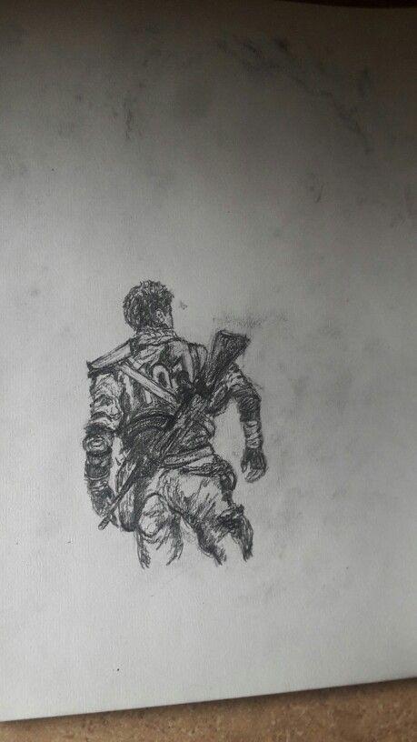 Wasteland sketch #WW #Sketch