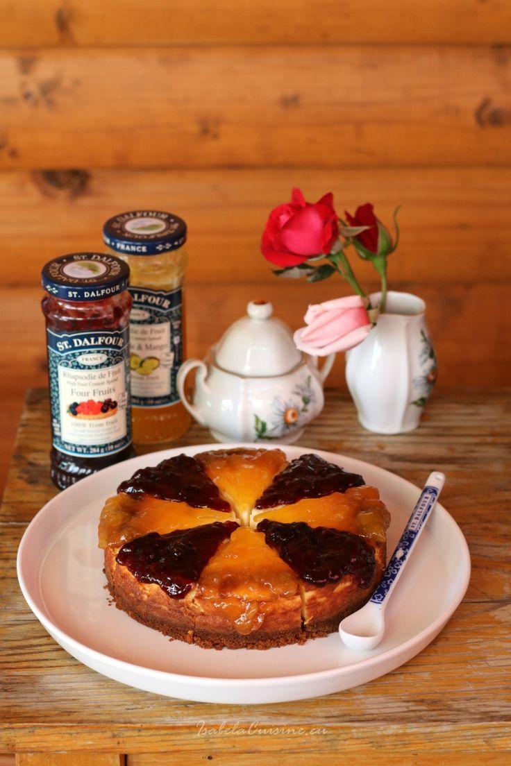 Mini cheesecake cu doua feluri de gem si o invitatie la concurs