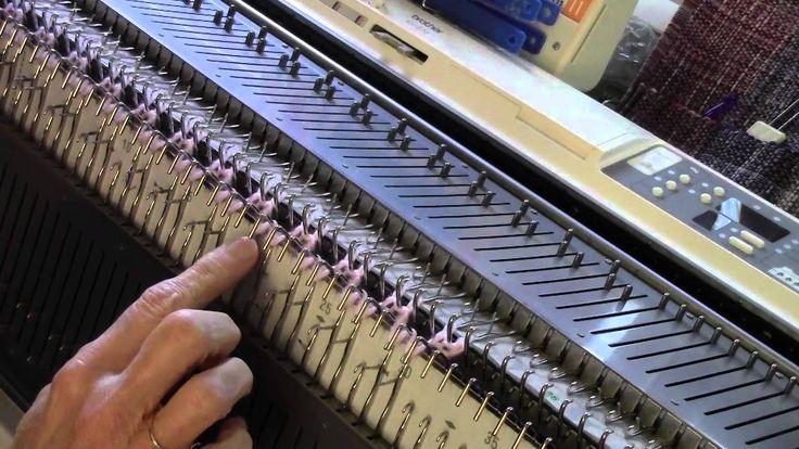 Machine Knit English Rib Cloche Hat by Diana Sullivan
