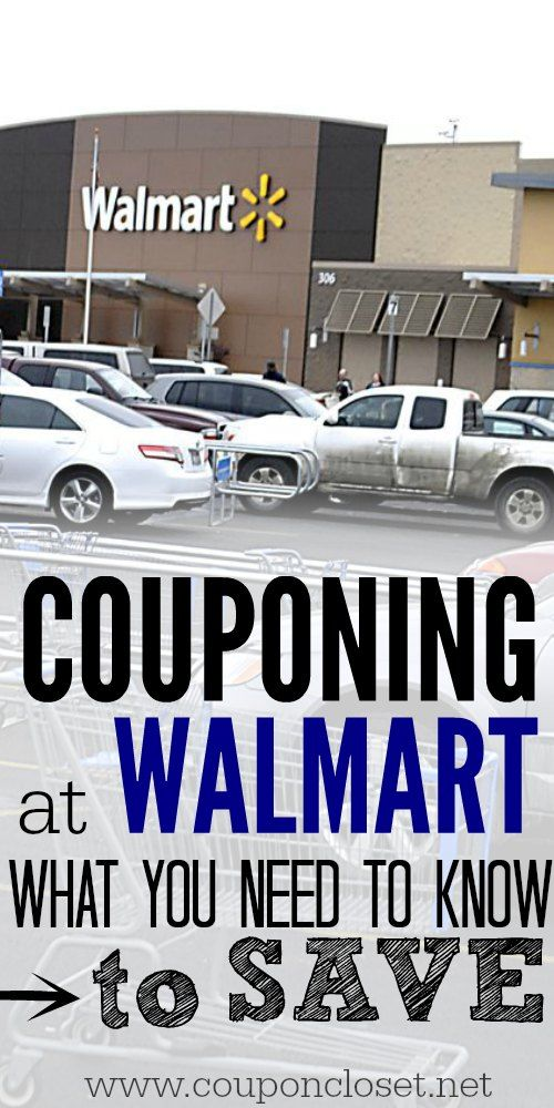 Couponing at Walmart - Here are the Tips you need to know to save with your coupons.