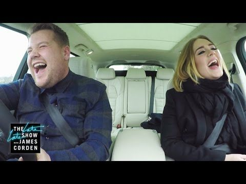 While home in London for the holidays, James Corden picks up his friend Adele for a drive around the city singing some of her classic songs before Adele raps...