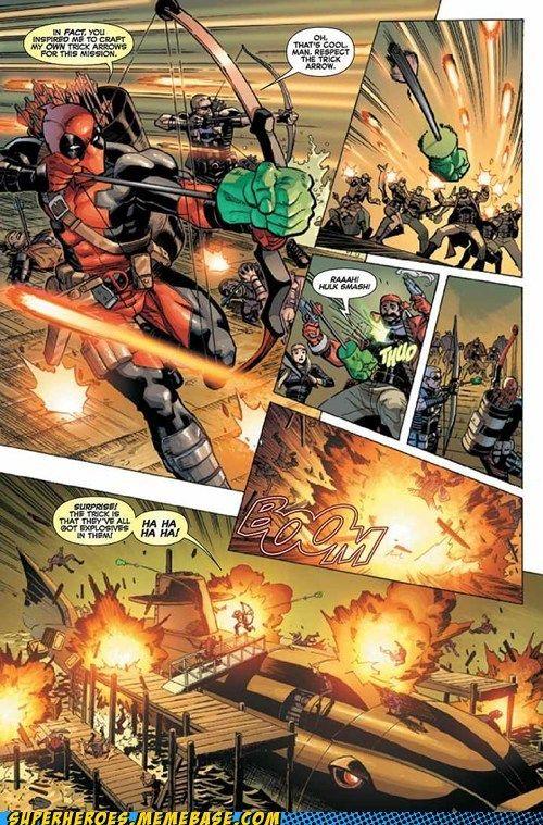 Deadpool Always Has Great Surprises