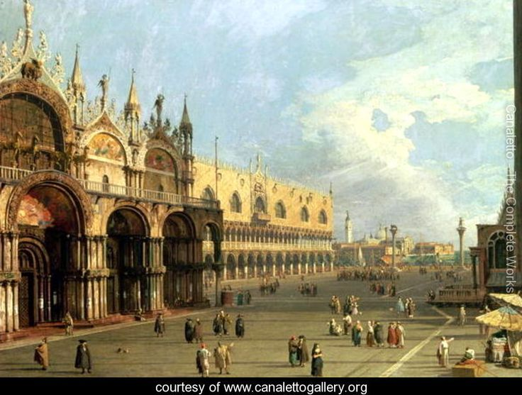 Canaletto is so mind blowing. His paintings are like photography before there was such a thing.