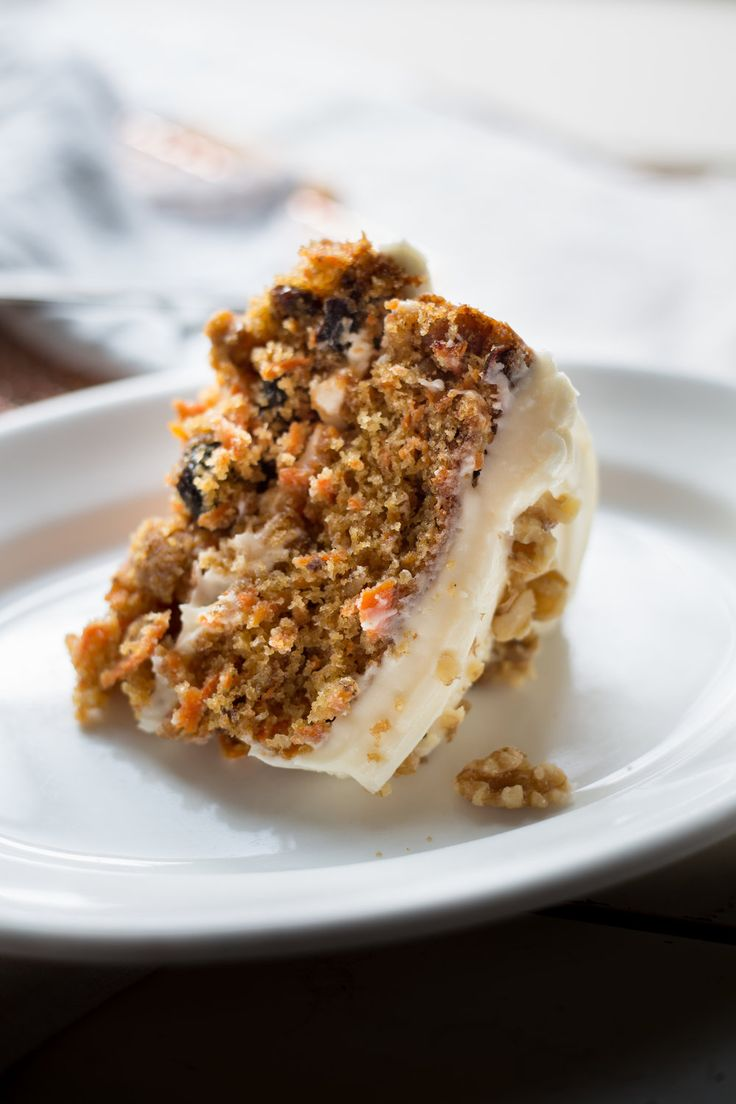 Carrot Cake recipe     4 eggs  2/3 cup grape-seed oil  1/2 cup melted butter  1/4 cup cream  1 tsp vanilla  1/2 tsp salt  1 1/2 cups brown sugar  2 1/4 cup flour  2 tsp baking powder  1 tsp baking soda  1 tsp cinnamon  4 cups grated carrots  1 cup chipped walnuts  1 cup