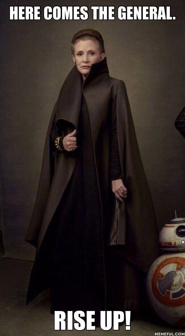 General Organa.  Happy Geek Pride Day.  Star Wars/Hamilton crossover.