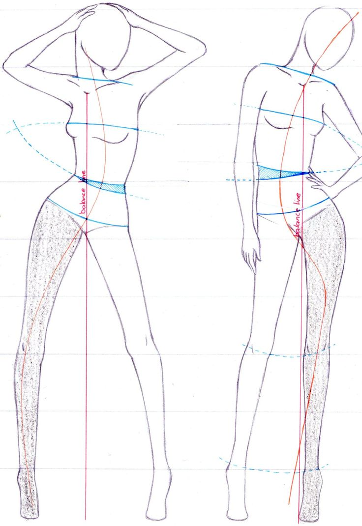 How To Draw Fashion Figures To achieve an s-curve,