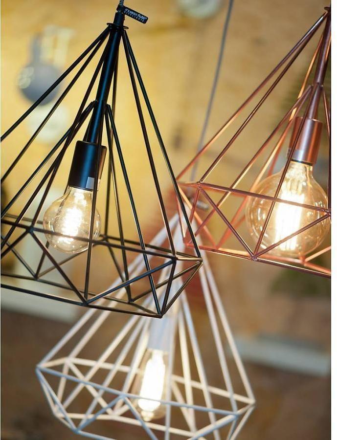 It's About RoMi Hanglamp Antwerp Zwart Draadijzer - Design meubelen & verlichting   Altijd SALE   Korting vanaf 2 stuks   Zuiver