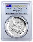 2018-P Australia 1 oz Silver Koala $1 Coin PCGS MS69 FS Flag PRESALE SKU52189 Best Value #silvercoin #australiaoz #koalaaustralia