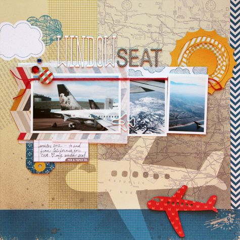 Cindy Tobey: Travel Theme, Scrapbook Layouts, Travel Layout, Travel Scrapbook, Cindy Tobey, Scrapbooking Layouts Cards, Americancrafts Layout, American Crafts