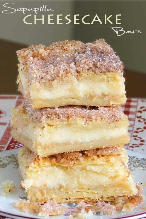 So papillary cheesecake bars