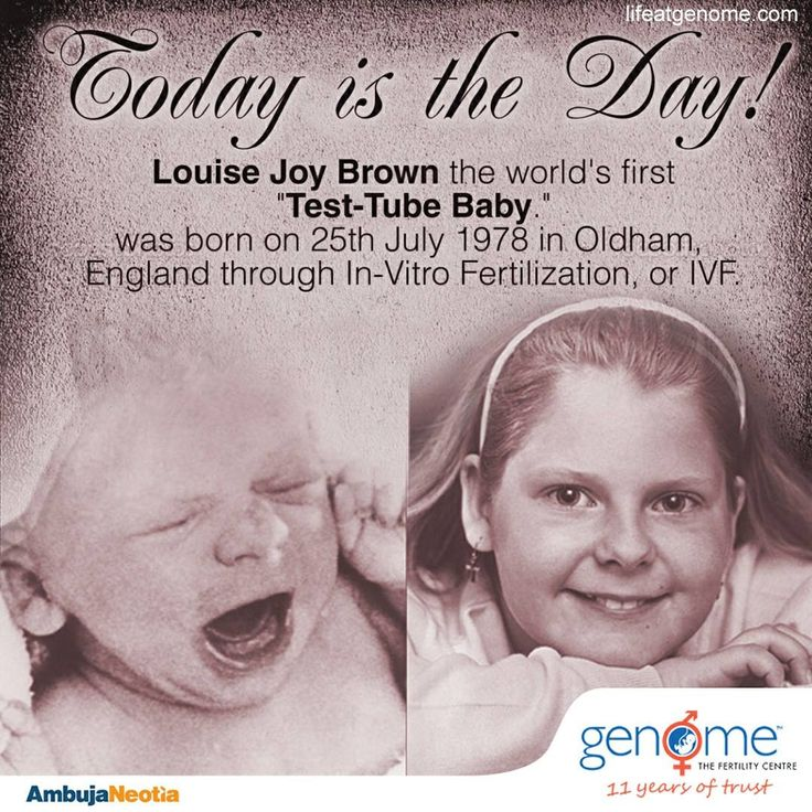 Happy 39th Birthday to the World's First IVF Baby, Louise Joy Brown! Her birth marked a history in medical science. Genome honours this remarkable achievement in Assisted Reproductive Technology and pledges to continue helping couples with #infertility to embrace the blessings of #parenthood.
