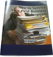 *How to write a business proposal...links from this page. seems to be everything I need to know!