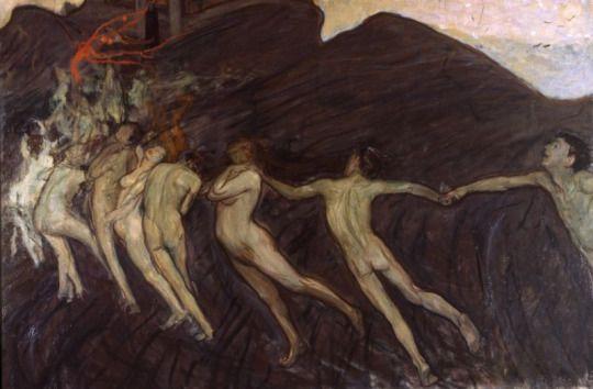 Wojciech Weiss - The Dance, 1899