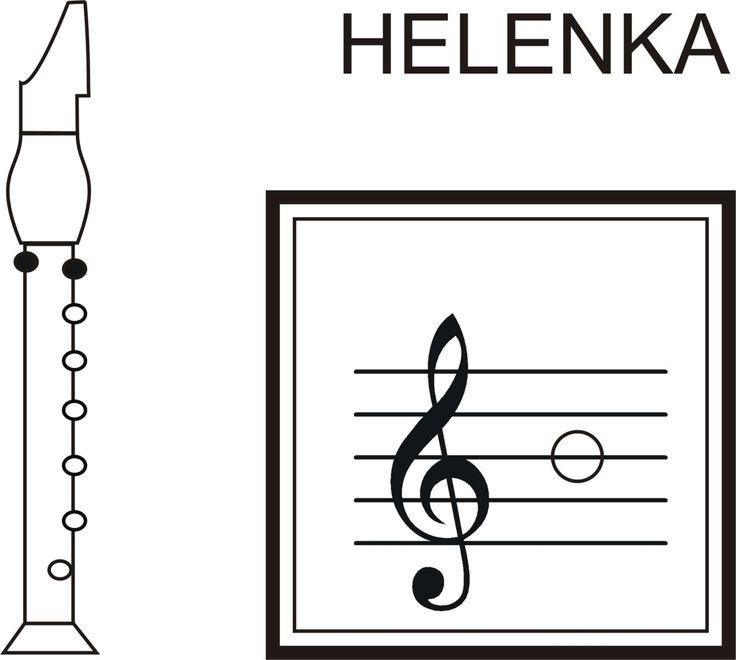 Nota Helenka - klikni pro zvětšení