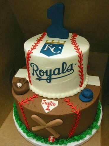 11 best Kansas City Royals Cake images on Pinterest Baseball theme