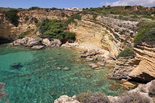 Karavados and the rocky coastline #travel #kefalonia