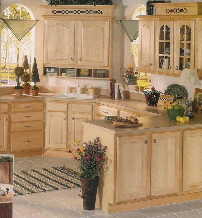 Unfinished Cabinet Doors Home Depot Kitchen