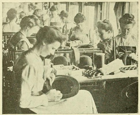 """Hat making in the past exposed many workers to toxic mercury, and the condition was officially known as """"mad hatter disease."""" Hatter's shakes, or tremors, were common in both the US and Europe."""