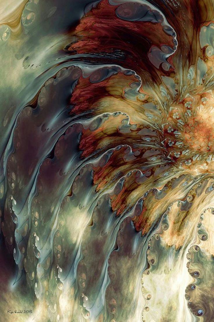 Weep: Fractal Art by Kim Redd