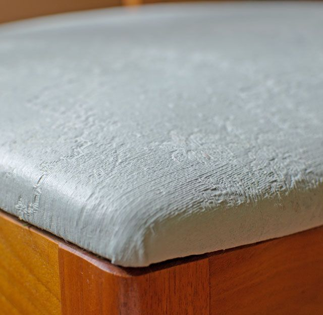 Faux Leather Finish Using Chalk Paint | Upholstery, Using ...