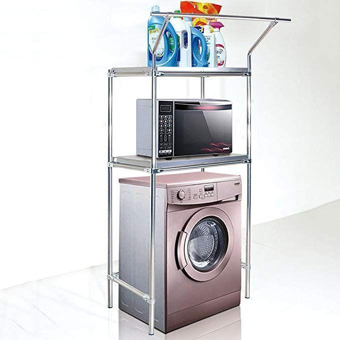 WENZHE Over toilet Bathroom Shelf Rack Washroom Shower Corner Washing Machine St…   – most beautiful shelves