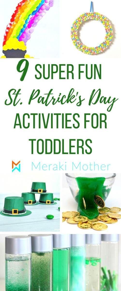 St Patrick's Day Activities for Preschoolers (2019)