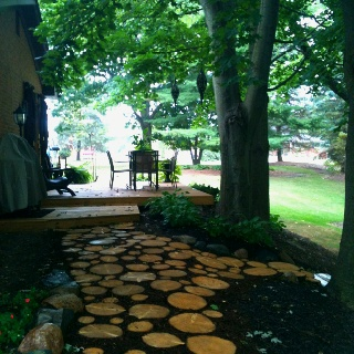 how to make stepping stones for outside