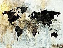 """Gold Worldmap"""