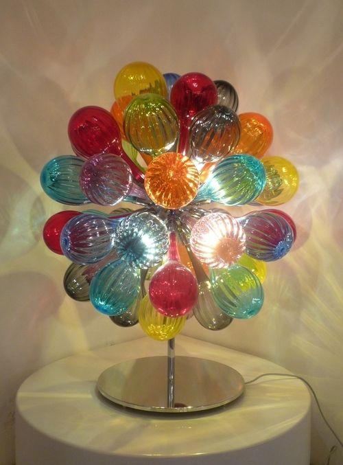 Murano Art-Glass Bubble Table light by Simone Cenedese. ♥•♥•♥FANTASTIC ♥•♥•♥