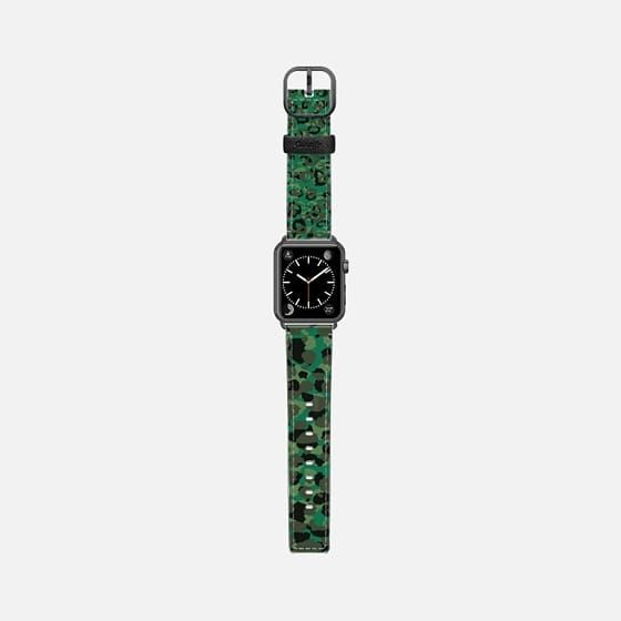 Casetify Apple Watch Band (38mm) Saffiano Leather Watch Band - Emerald Leopard 6 by Christy Leigh LAST CHANCE!!!  Get 17% OFF Orders Over $40 | Get 20% OFF Orders Over $80 | Get 30% OFF Orders Over $100 USE CODE: CYBER2017 | Expires in: less 2 hours If you missed it, you can still save $10 with this link https://www.casetify.com/invite/2dvn92